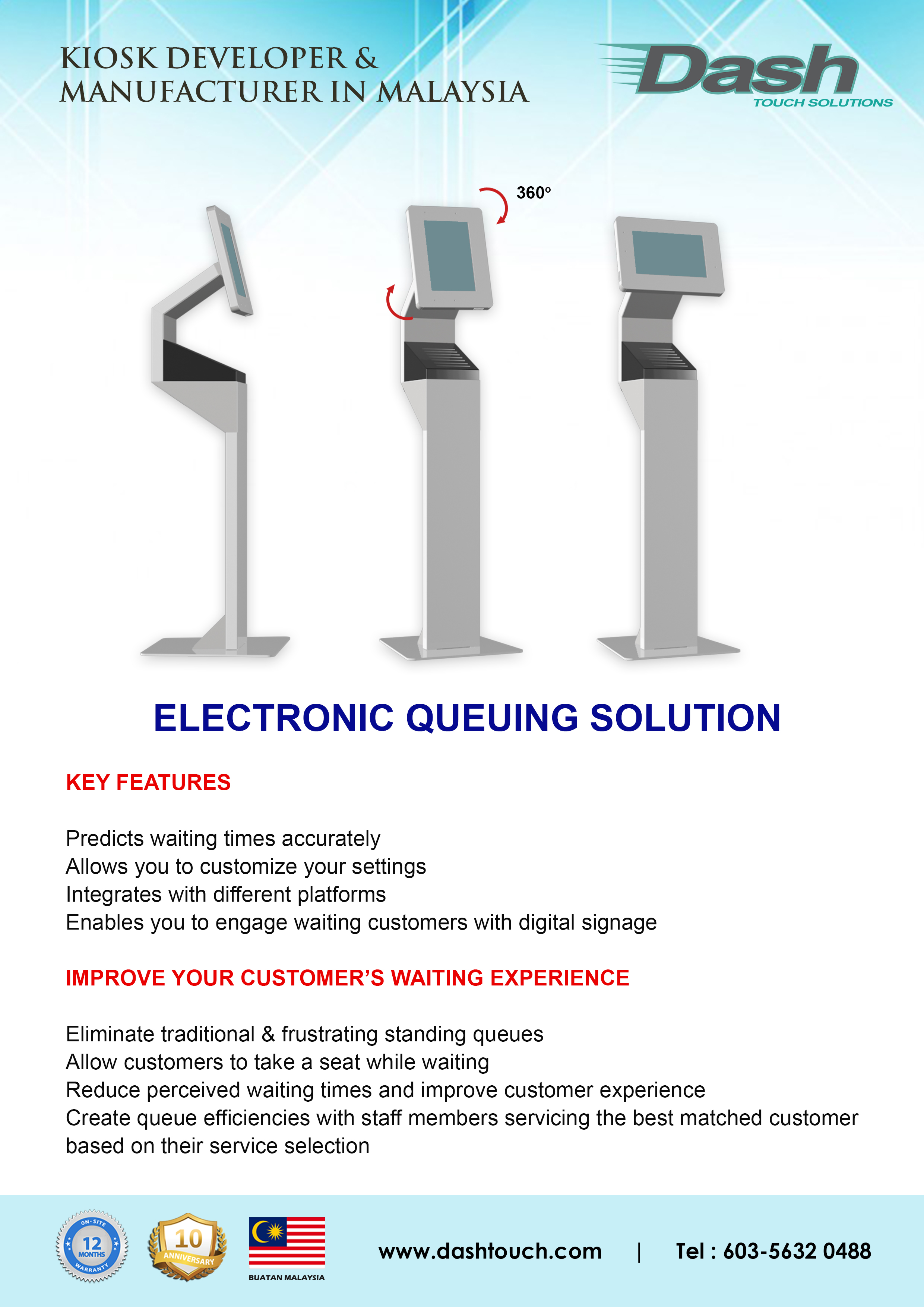 Electronic Queuing Solution